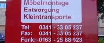 LKW Beschriftung Leipzig - Ihr Umzugsservice